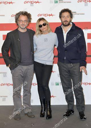 Director Antonio Morabito, Isabella Ferrari, Claudio Santamaria