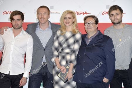 Christian Cooke, Damian Lewis, Nathalie Rapti Gomez, Carlo Carlei and Douglas Booth