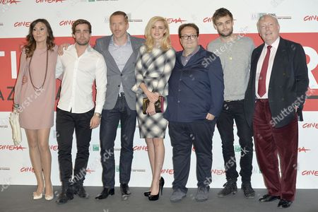 Simona Caparrini, Christian Cooke, Damian Lewis, Nathalie Rapti Gomez, Carlo Carlei, Douglas Booth and Julian Fellowes