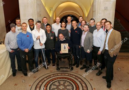 Editorial picture of Bryan Adams 'Wounded - The Legacy of War' book launch, London, Britain - 11 Nov 2013