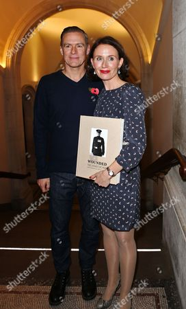 Editorial photo of Bryan Adams 'Wounded - The Legacy of War' book launch, London, Britain - 11 Nov 2013