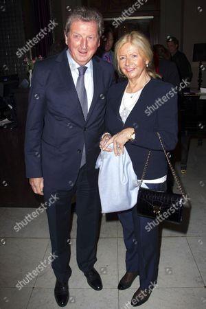 Roy Hodgson and Sheila Hodgson