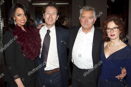 Jasmin Duran, Nick Moran (Juror 7), Martin Shaw (Juror 8) and Karen da Silva