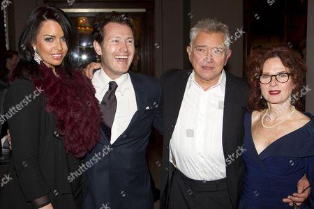 Stock Photo of Jasmin Duran, Nick Moran (Juror 7), Martin Shaw (Juror 8) and Karen da Silva