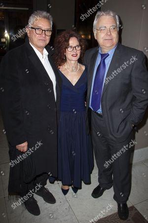Stock Image of Martin Shaw (Juror 8), Karen da Silva and Bill Kenwright (Producer)