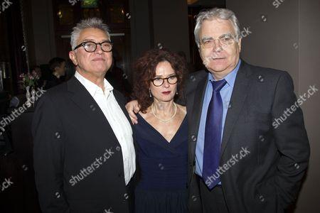 Martin Shaw (Juror 8), Karen da Silva and Bill Kenwright (Producer)