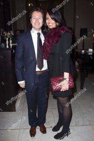 Nick Moran (Juror 7) and Jasmin Duran