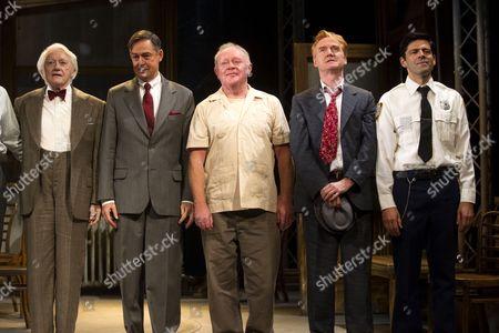 Editorial photo of 'Twelve Angry Men' play, Garrick Theatre, London, Britain - 11 Nov 2013