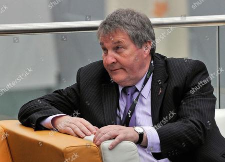 Joint General Secretary Of Union Unite Derek Simpson Tuc Congress 09 At The Bt Liverpool Arena Merseyside.