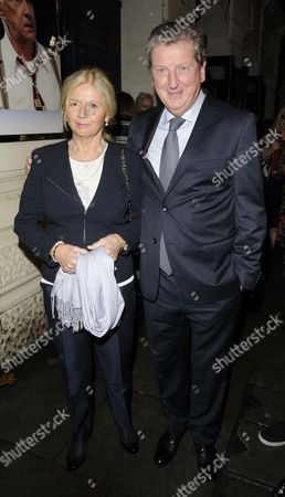 Sheila Hodgson and Roy Hodgson
