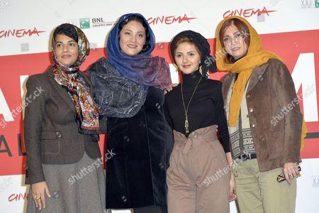 Nawal Sharipi, Shabnam Moghaddami, Mahsa Alafar, Roya Javidnia