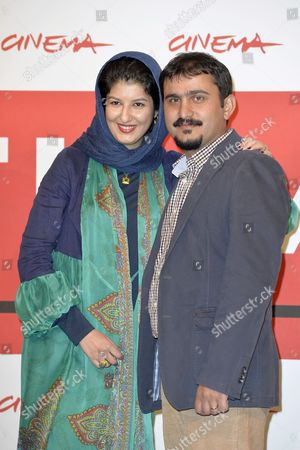 Kiarash Asadizadeh and wife Noele