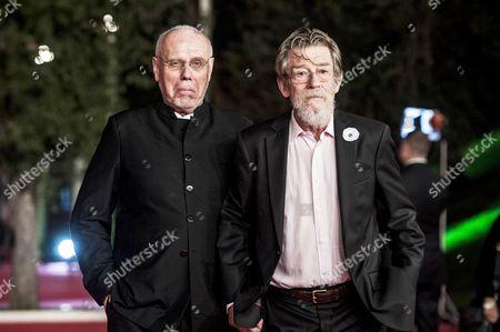 Marco Muller and John Hurt