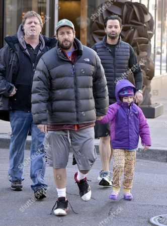 Adam Sandler with daughter Sunny Sandler