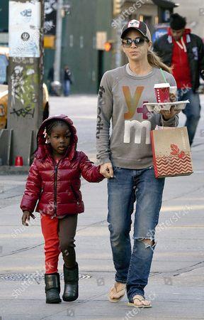 Jillian Michaels and daughter Lukensia