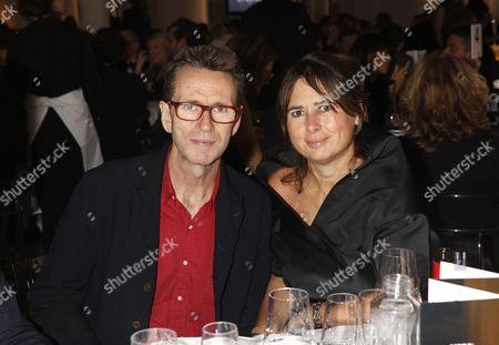 Oliver Peyton and Alexandra Shulman
