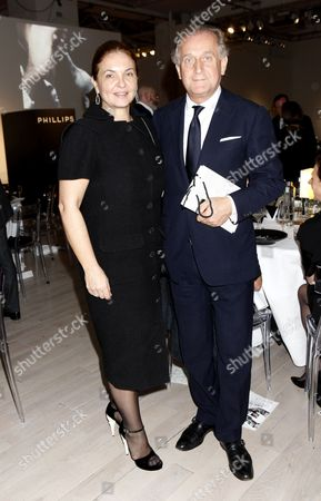 Spas Roussev and wife