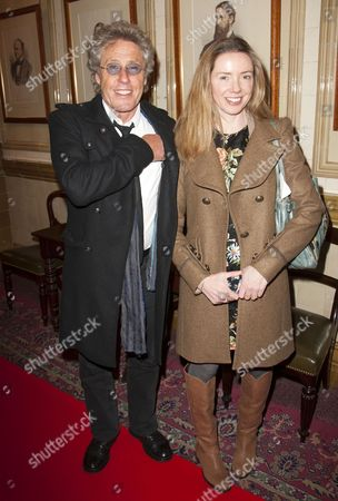 Stock Image of Roger Daltrey and Rosie Daltrey