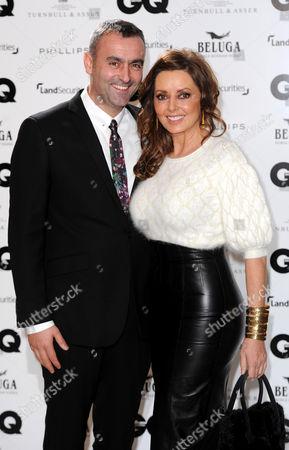 Carol Vorderman and boyfriend Graham Duff