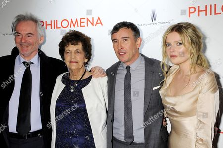 Stock Picture of Martin Sixsmith, Philomena Lee, Steve Coogan and Sophie Kennedy Clark