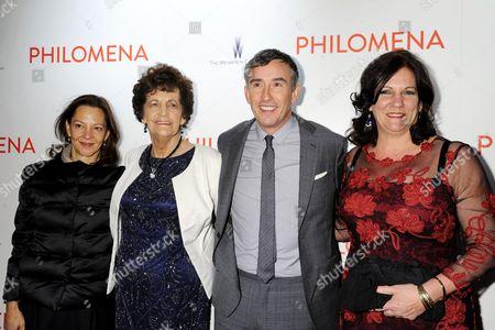 Gabrielle Tana, Philomena Lee, Steve Coogan and Jane Lee
