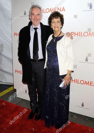 Martin Sixsmith and Philomena Lee