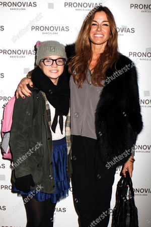 Kelly Bensimon and daughter Thaddeus Ann Bensimon