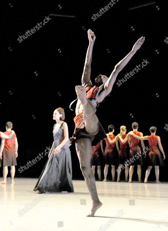Editorial photo of 'Phaedra' performed by Richard Alston Dance at the Barbican Theatre, London, Britain - 06 Nov 2013