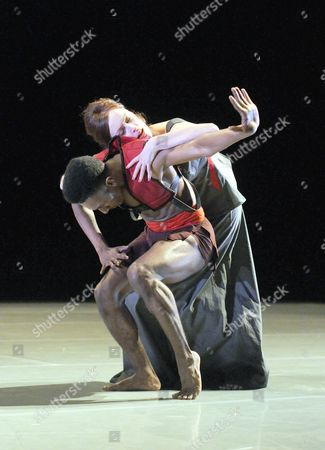 Editorial image of 'Phaedra' performed by Richard Alston Dance at the Barbican Theatre, London, Britain - 06 Nov 2013