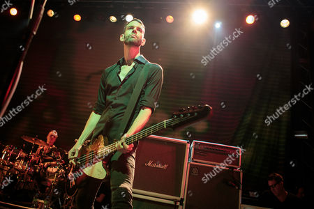 Editorial image of Placebo in concert at the O2 Academy, Leeds, Britain - 08 Nov 2013
