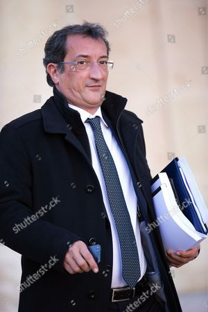 French Junior Minister for Cities Francois Lamy