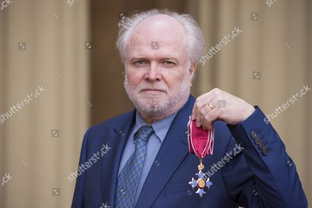 Stock Picture of The Honourable Michael Attenborough, Theatre Director and Producer after receiving his CBE for services to the Theatre