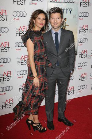 Stock Picture of Adam Scott and Naomi Sablan