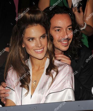 Stock Picture of Alessandra Ambrosio, Orlando Pita