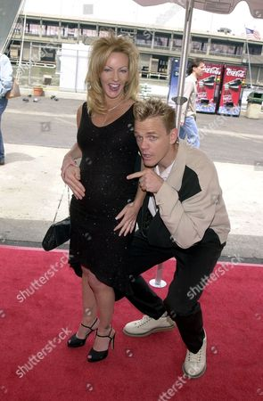 """Christopher Titus from """"Titus"""" and wife"""