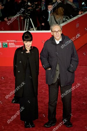 Franco Battiato and Director Elisabetta Sgarbi