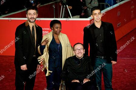 Filippo Timi, Italian Minister of Integration Cecile Kyenge, Mirko Locatelli, Jaouher Brahim