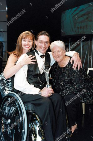 DAWN FRASER WITH VINNIE LAUWERS AND GIRLFRIEND