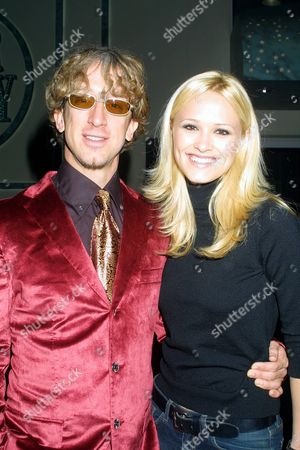 Andy Dick and Lisa Donatz at the Independent Feature Project's (IFP) 11th Annual Gotham Awards, celebrating outstanding achievement in New York's filmmaking community, at Pier 60 at Chelsea Piers in New York City on October 1, 2001.  Manhattan, New York  Photo® Matt Baron/BEI