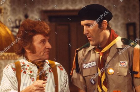RUSS ABBOT AND NORMAN COLLIER. 'RUSS ABBOT'S MADHOUSE' APR. 1980