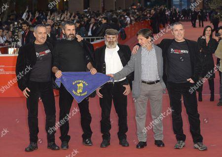 Editorial picture of 'Capo E Croce, Le Ragioni Dei Pastori' film premiere, 8th International Rome Film Festival, Italy - 14 Nov 2013