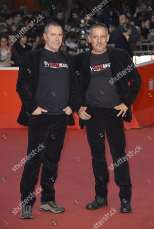 Stock Picture of Marco Antonio Pani and Paolo Carboni, the directors
