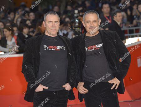 Stock Image of Marco Antonio Pani and Paolo Carboni