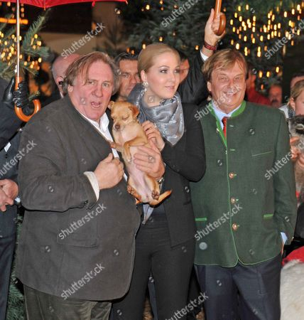 Editorial picture of Opening of the Christmas market at Gut Aiderbichl, Henndorf, Austria - 14 Nov 2013