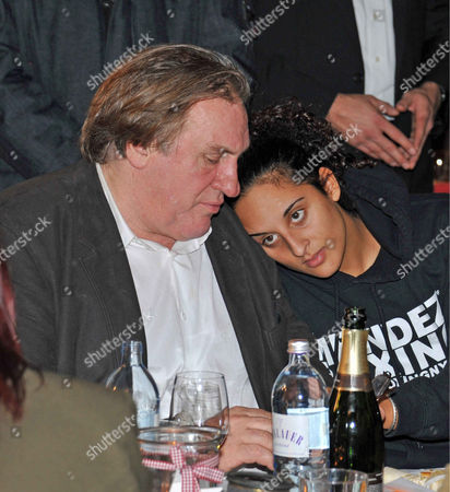 Gerard Depardieu and daughter Roxanne Depardieu