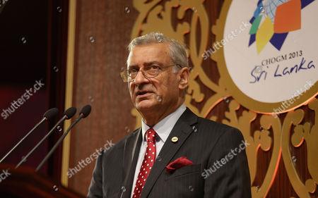 Commonwealth Secretary-General Mr Kamalesh Sharma