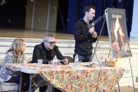 Editorial photo of 'The Book Thief' book signing and Q&A session, Philadelphia, America - 13 Nov 2013