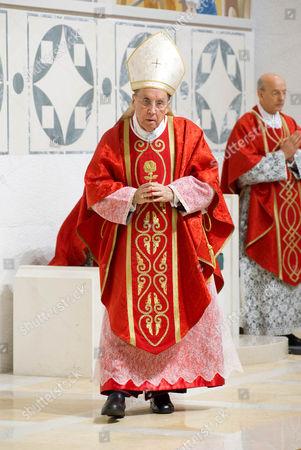 Stock Photo of Bishop Javier Echevarria Rodriguez