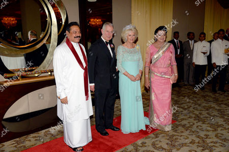 Editorial photo of Dinner for Commonwealth Heads of Government, Colombo, Sri Lanka - 15 Nov 2013