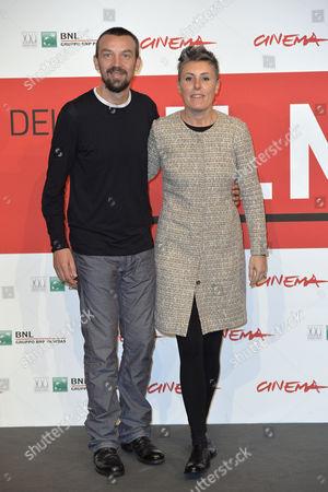 Director Alberto Fasulo with his wife producer Nadia Trevisan